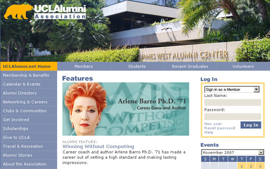 UCLA Alumni Website Features Dr. Arlene